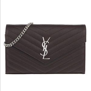 NWT YSL Monogram wallet on chain authentic